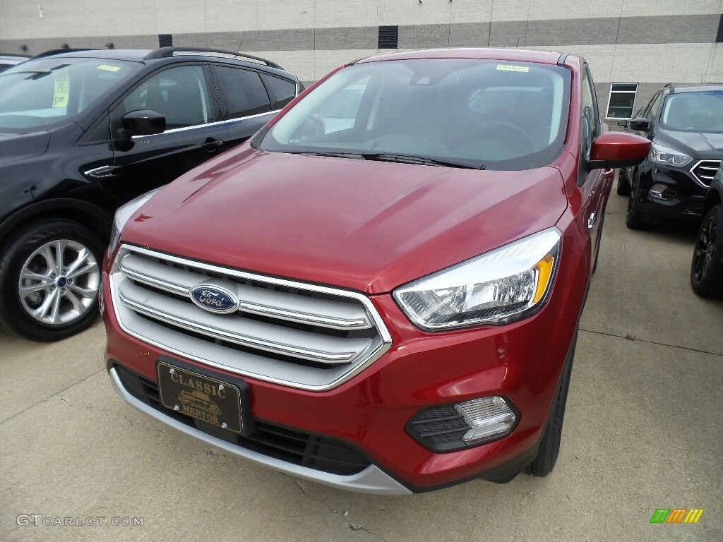 2019 Escape SE - Ruby Red / Chromite Gray/Charcoal Black photo #1