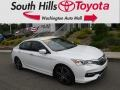 White Orchid Pearl 2016 Honda Accord Sport Sedan