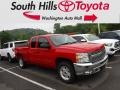 2013 Victory Red Chevrolet Silverado 1500 LT Extended Cab 4x4 #133693937