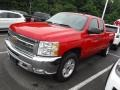 2013 Victory Red Chevrolet Silverado 1500 LT Extended Cab 4x4  photo #5