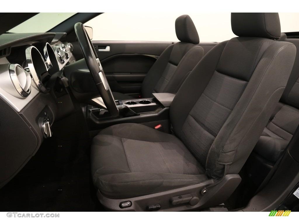 2005 Mustang V6 Premium Convertible - Black / Dark Charcoal photo #6