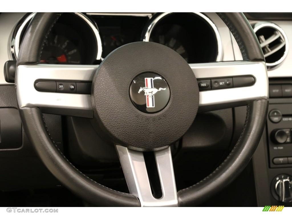 2005 Mustang V6 Premium Convertible - Black / Dark Charcoal photo #8