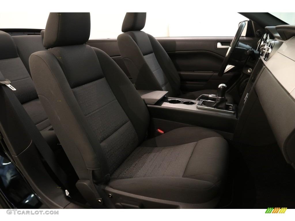 2005 Mustang V6 Premium Convertible - Black / Dark Charcoal photo #13