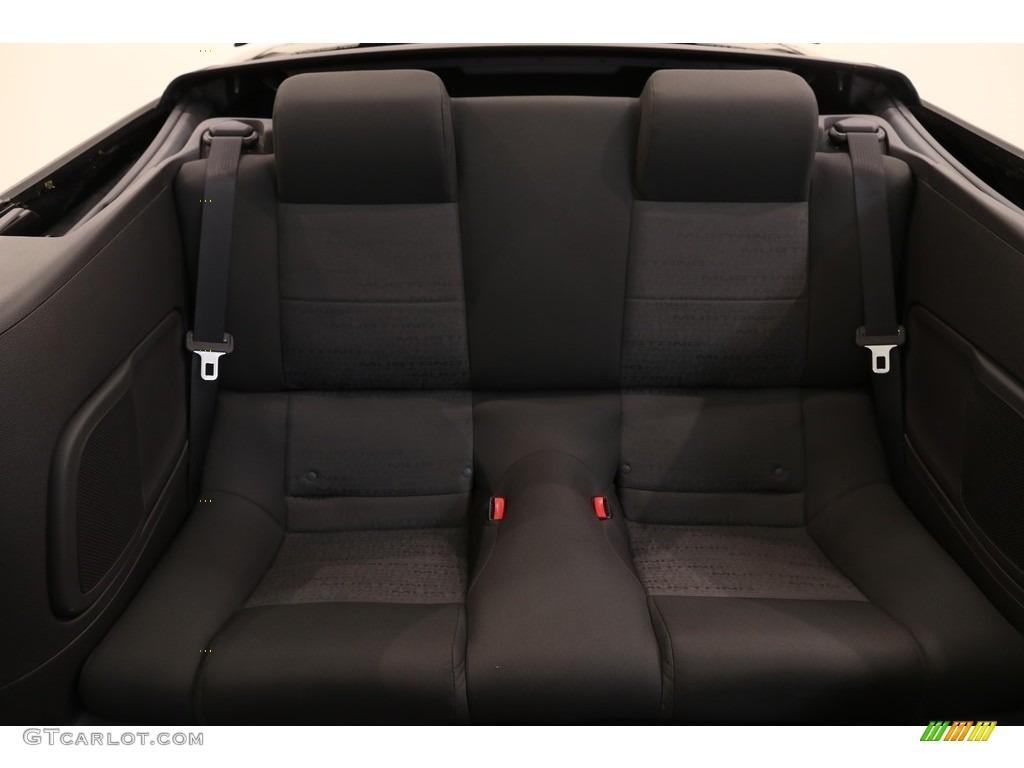 2005 Mustang V6 Premium Convertible - Black / Dark Charcoal photo #14