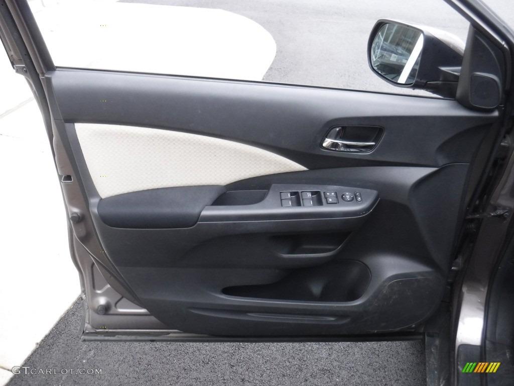 2016 CR-V EX AWD - Urban Titanium Metallic / Beige photo #16