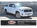 2019 Super White Toyota Tundra Platinum CrewMax 4x4  photo #1