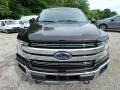 2019 Magma Red Ford F150 Lariat SuperCrew 4x4  photo #7