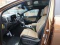 Front Seat of 2020 Sportage SX Turbo AWD