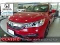 San Marino Red 2016 Honda Accord Sport Sedan
