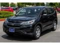 2016 Crystal Black Pearl Honda CR-V LX  photo #3