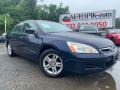 Royal Blue Pearl 2007 Honda Accord SE Sedan
