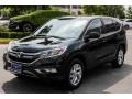 2016 Crystal Black Pearl Honda CR-V EX  photo #3