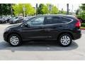 2016 Crystal Black Pearl Honda CR-V EX  photo #4