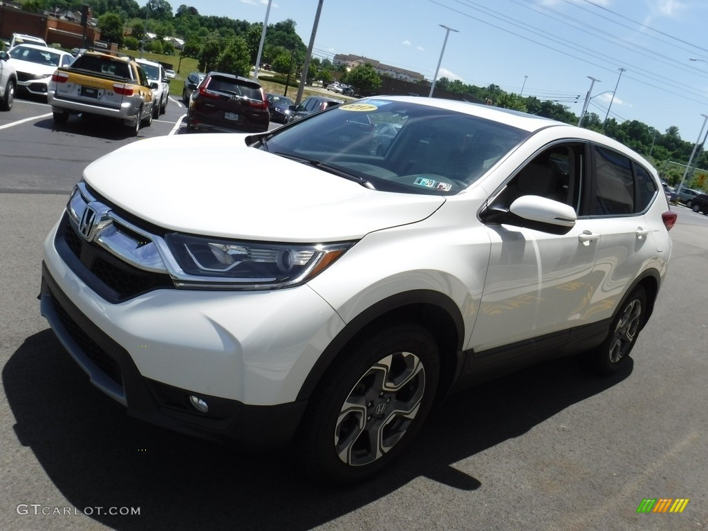 2017 CR-V EX AWD - White Diamond Pearl / Ivory photo #6