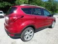 2019 Ruby Red Ford Escape Titanium 4WD  photo #2