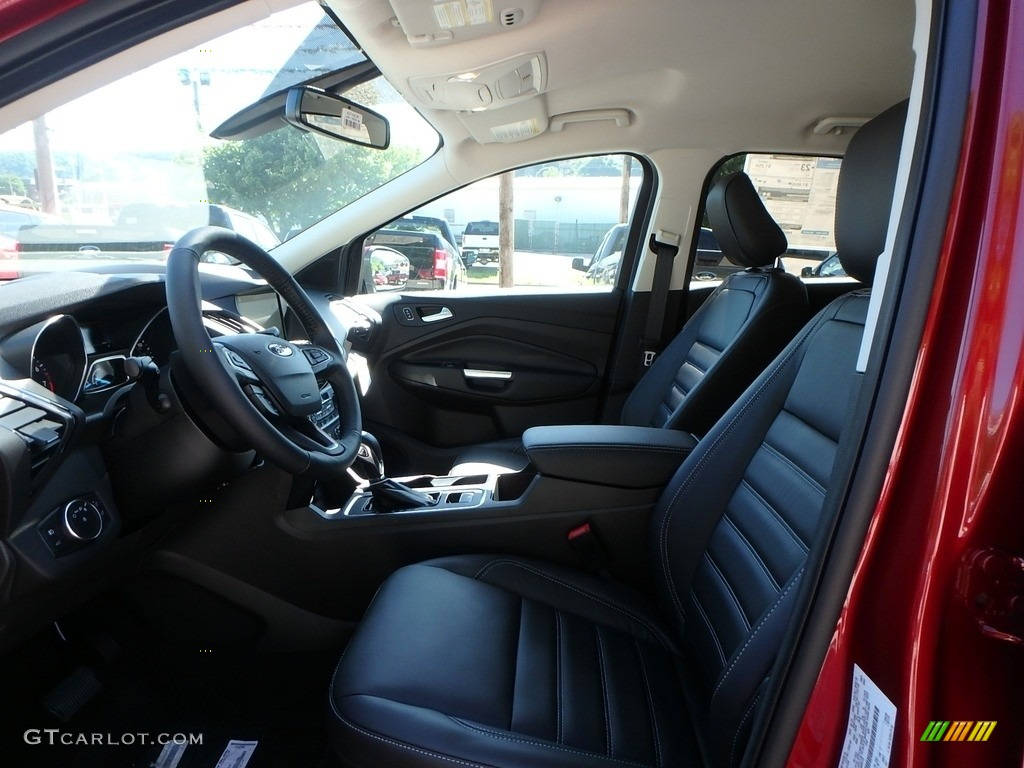 2019 Escape Titanium 4WD - Ruby Red / Chromite Gray/Charcoal Black photo #11