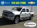 2016 Silver Ice Metallic Chevrolet Silverado 1500 LTZ Crew Cab 4x4 #133784541