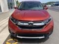 2019 Basque Red Pearl II Honda CR-V EX-L  photo #3