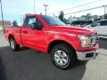 2019 Race Red Ford F150 XLT Regular Cab 4x4  photo #3
