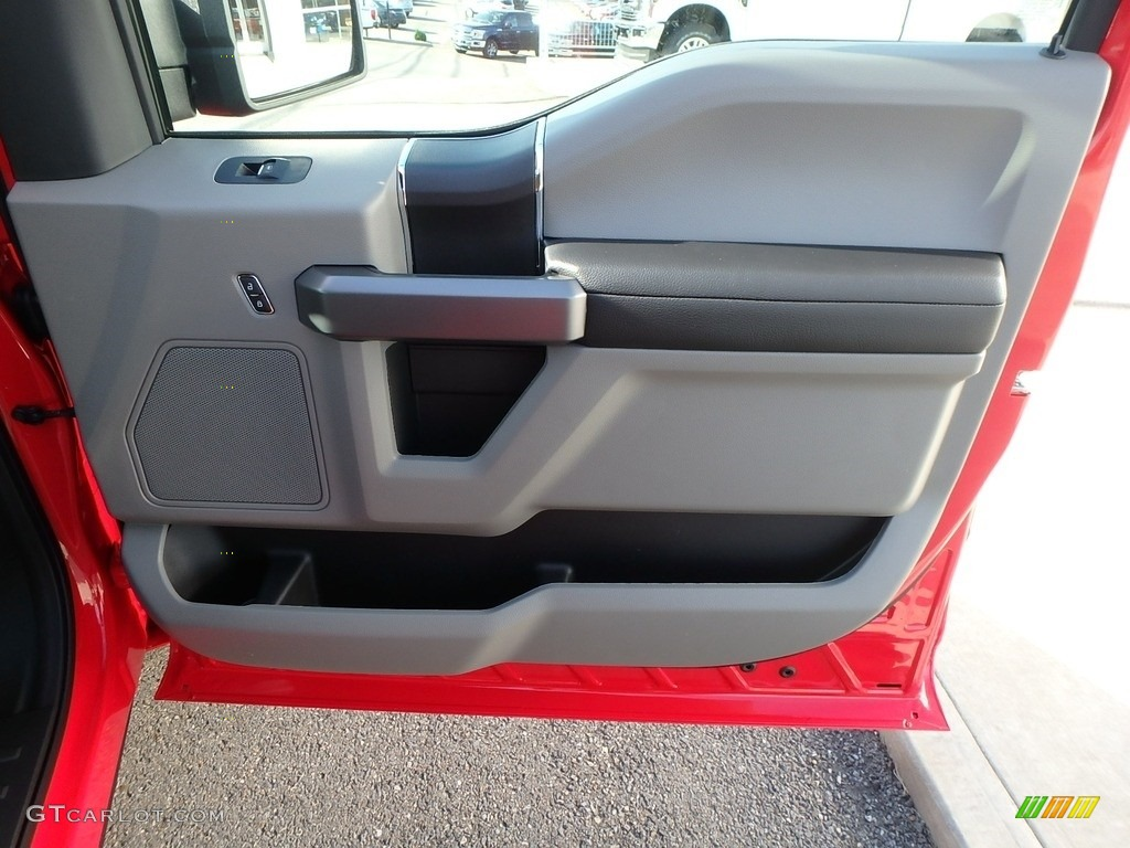 2019 F150 XLT Regular Cab 4x4 - Race Red / Earth Gray photo #7