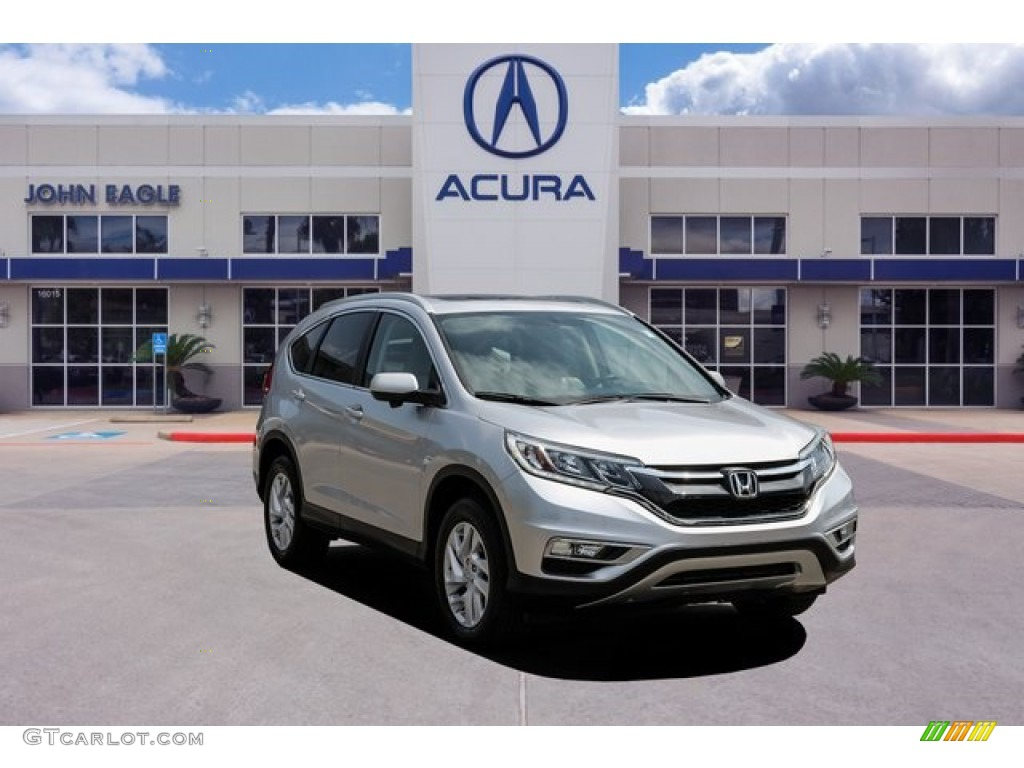 2016 CR-V EX-L - Alabaster Silver Metallic / Gray photo #1