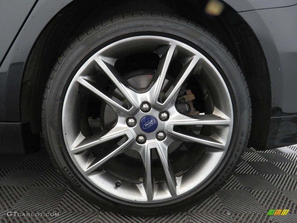 2013 Fusion Titanium AWD - Tuxedo Black Metallic / Charcoal Black photo #19