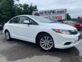 Taffeta White 2012 Honda Civic EX Sedan