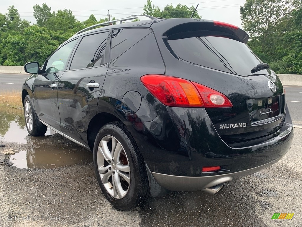 2009 Murano LE AWD - Super Black / Black photo #6