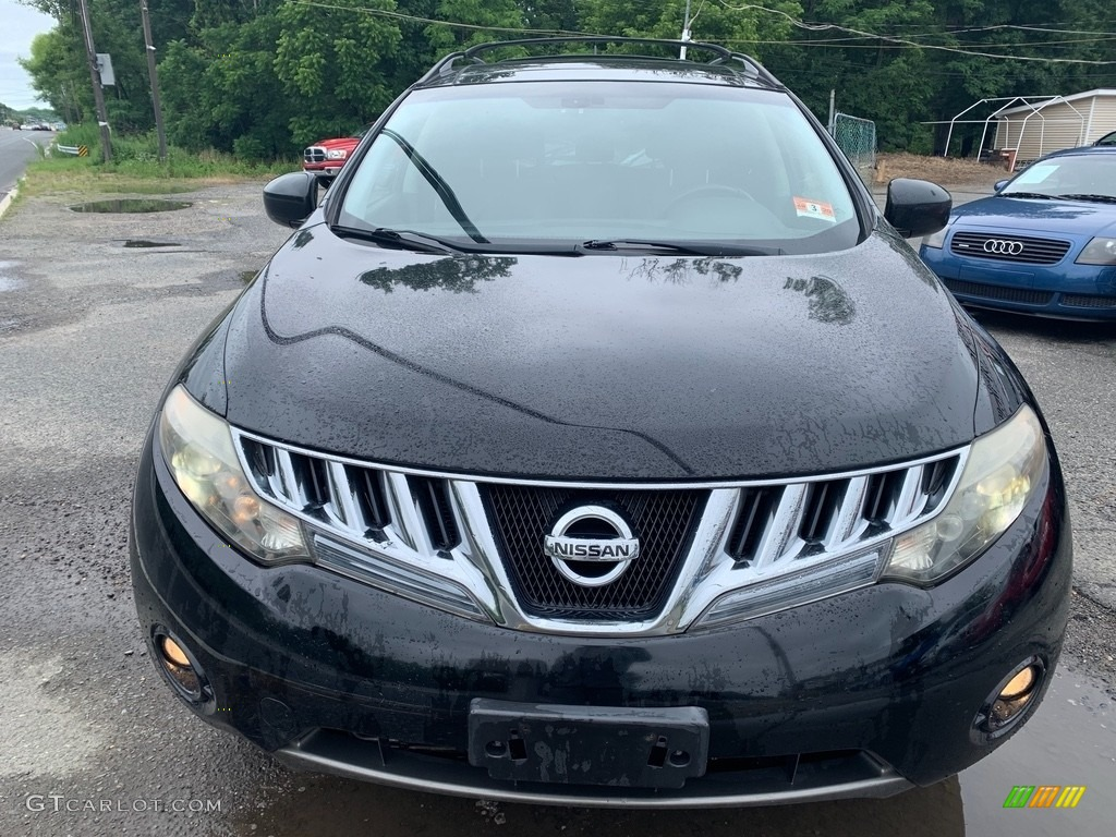 2009 Murano LE AWD - Super Black / Black photo #7