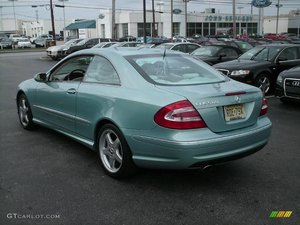 2004 ice blue metallic mercedes benz clk 500 coupe 13353308 photo 7 car color. Black Bedroom Furniture Sets. Home Design Ideas