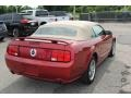 2006 Redfire Metallic Ford Mustang GT Premium Convertible  photo #5