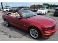 2006 Redfire Metallic Ford Mustang GT Premium Convertible  photo #12