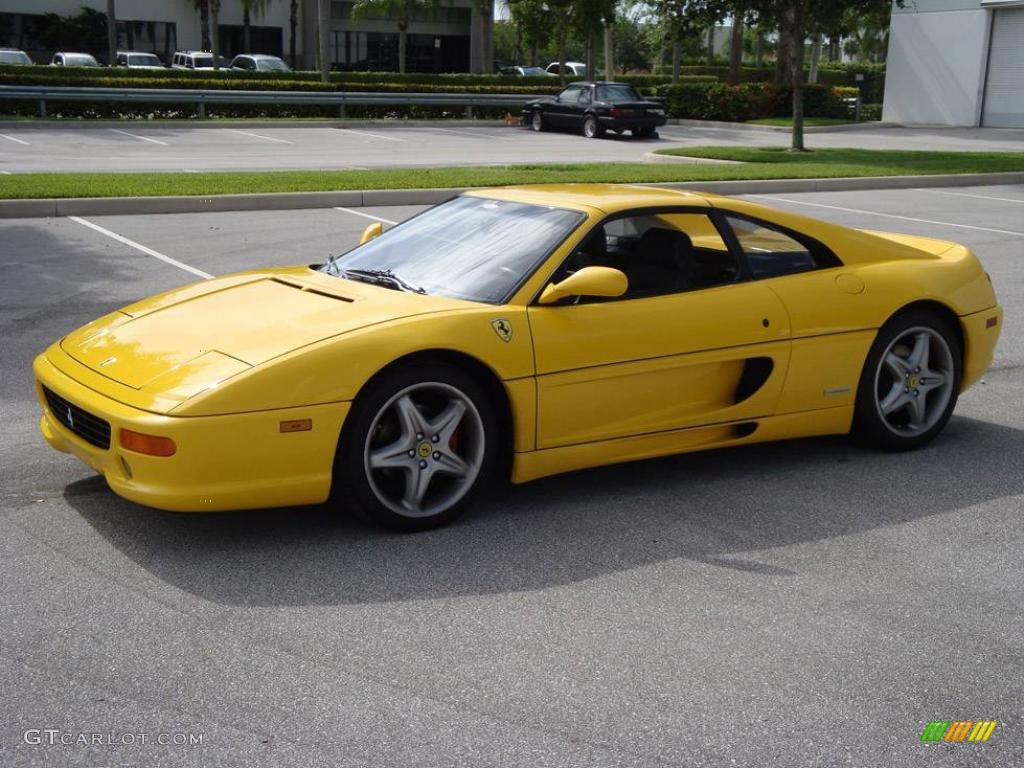 1999 F355 GTS - Fly Yellow / Black photo #1