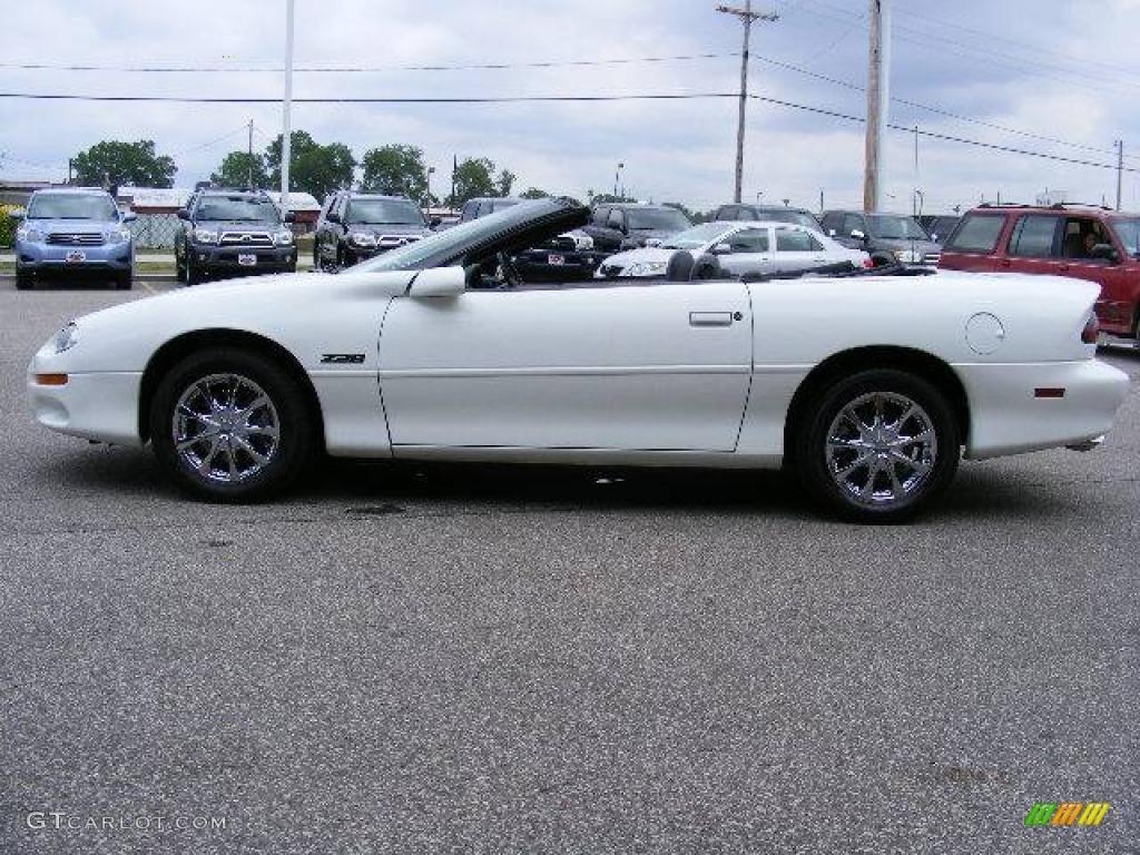 2000 white camaro