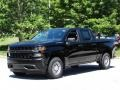 2019 Black Chevrolet Silverado 1500 WT Crew Cab  photo #5