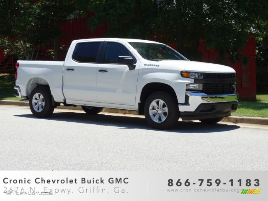 2019 Silverado 1500 WT Crew Cab - Summit White / Jet Black photo #1