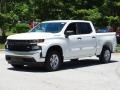 2019 Summit White Chevrolet Silverado 1500 WT Crew Cab  photo #5