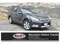 Deep Indigo Pearl 2012 Subaru Outback 3.6R Limited