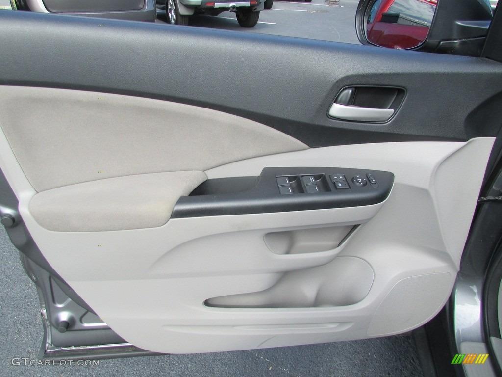 2013 CR-V EX AWD - Polished Metal Metallic / Gray photo #14
