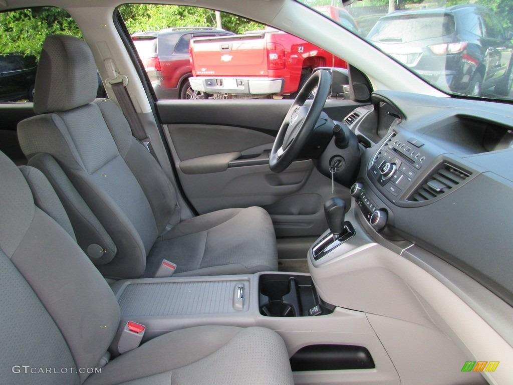 2013 CR-V EX AWD - Polished Metal Metallic / Gray photo #17