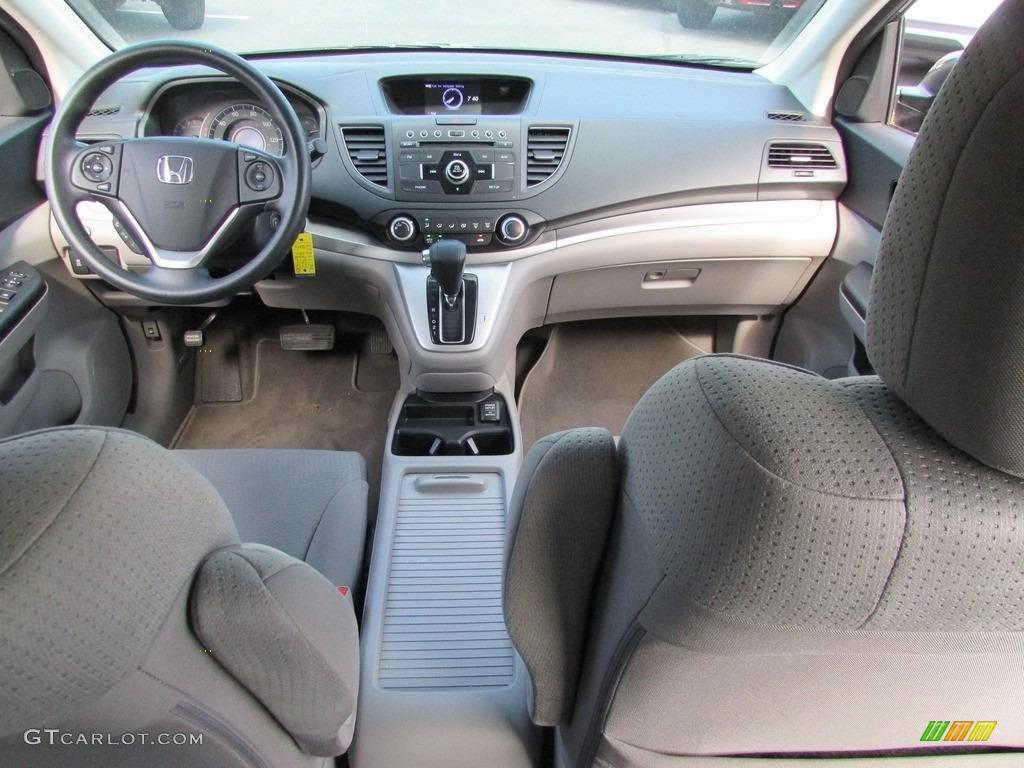 2013 CR-V EX AWD - Polished Metal Metallic / Gray photo #25