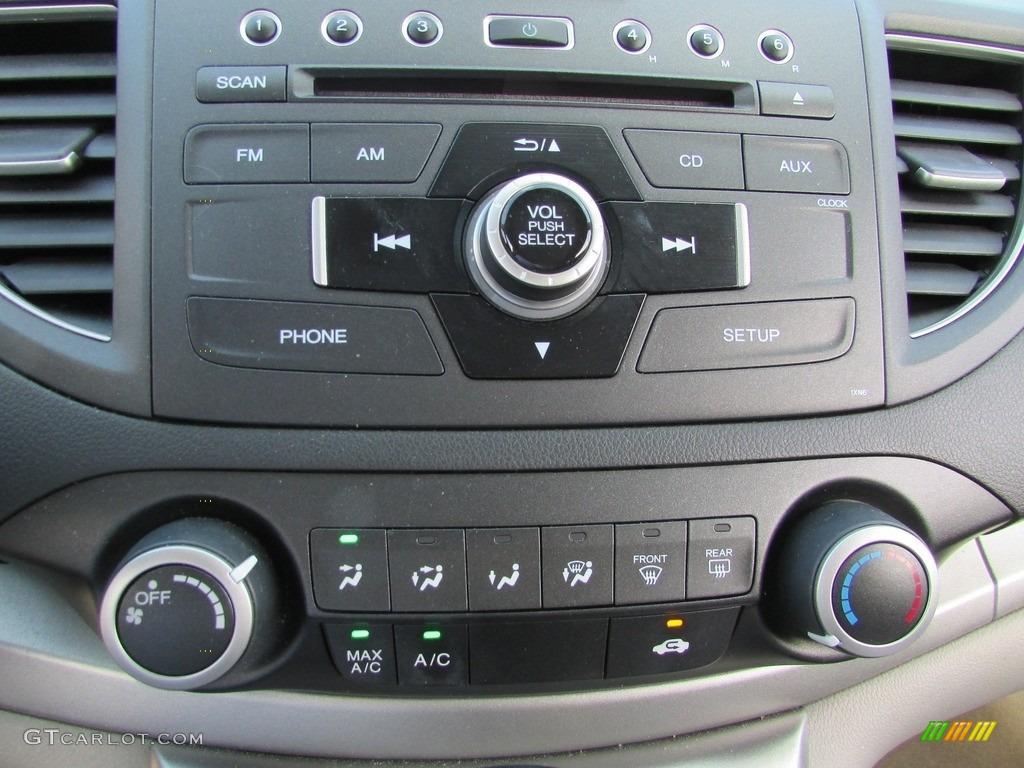 2013 CR-V EX AWD - Polished Metal Metallic / Gray photo #27