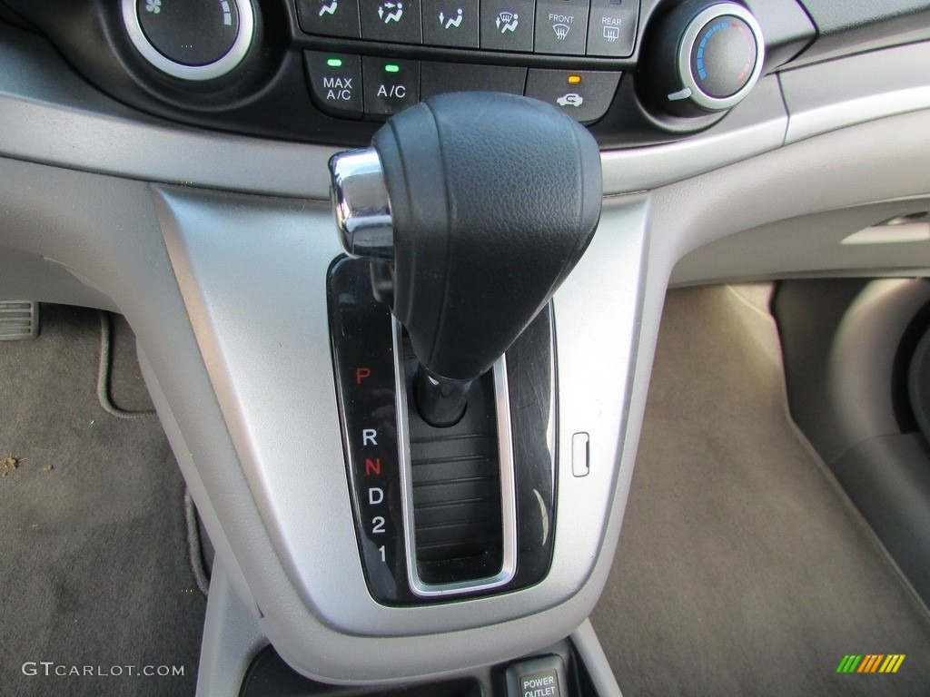 2013 CR-V EX AWD - Polished Metal Metallic / Gray photo #28