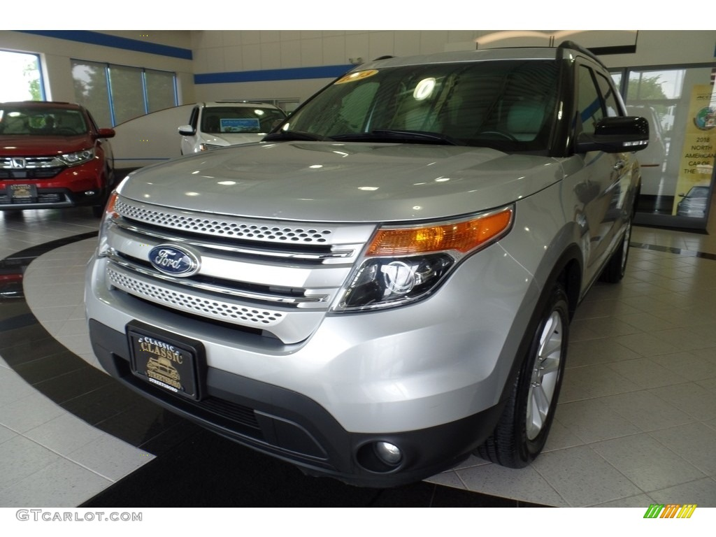 Ingot Silver Metallic Ford Explorer