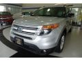 2013 Ingot Silver Metallic Ford Explorer XLT 4WD  photo #1
