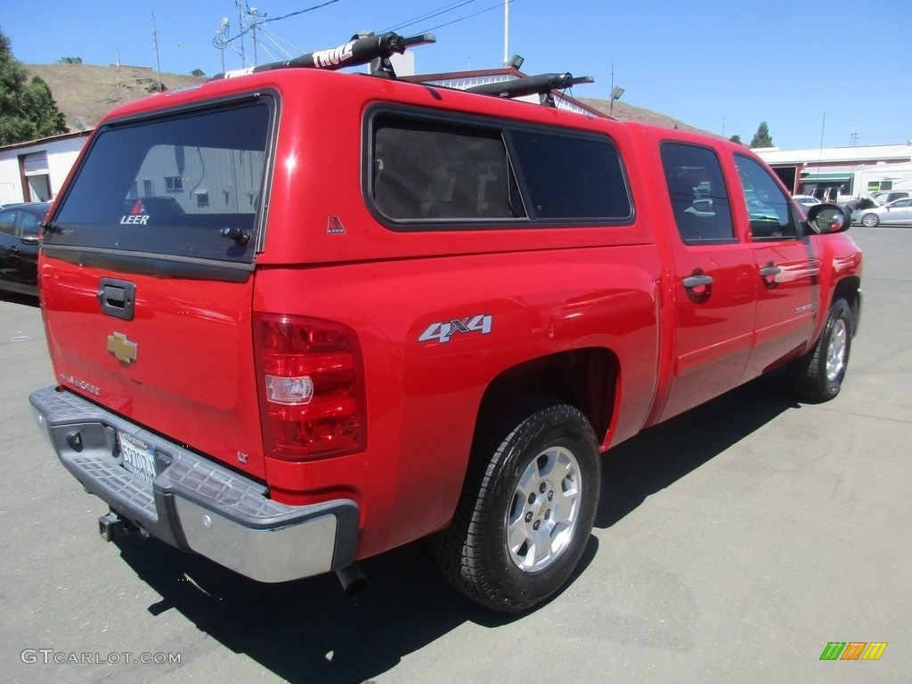2013 Silverado 1500 LT Crew Cab 4x4 - Victory Red / Ebony photo #7