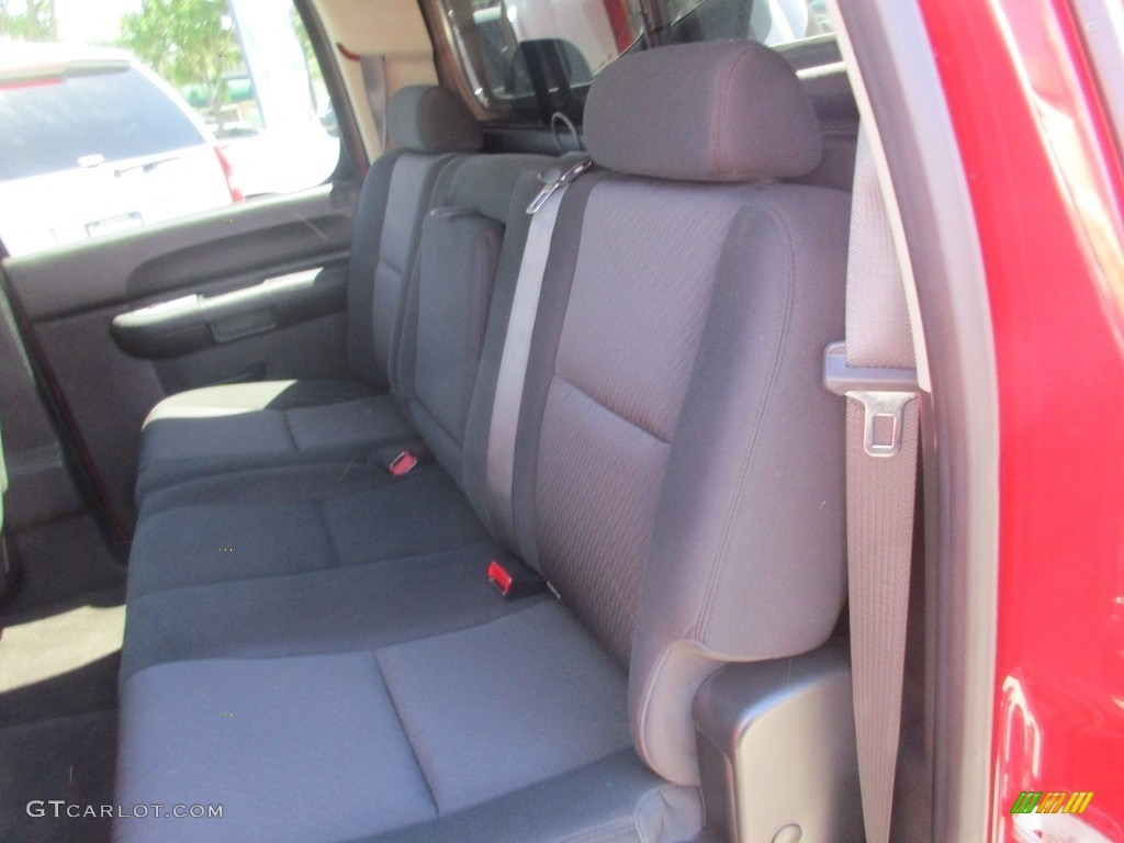 2013 Silverado 1500 LT Crew Cab 4x4 - Victory Red / Ebony photo #9