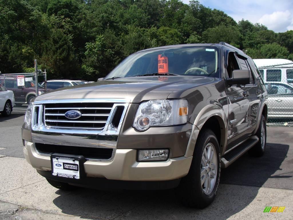 2006 Mineral Grey Metallic Ford Explorer Eddie Bauer 4x4 13370136 GTCarLot