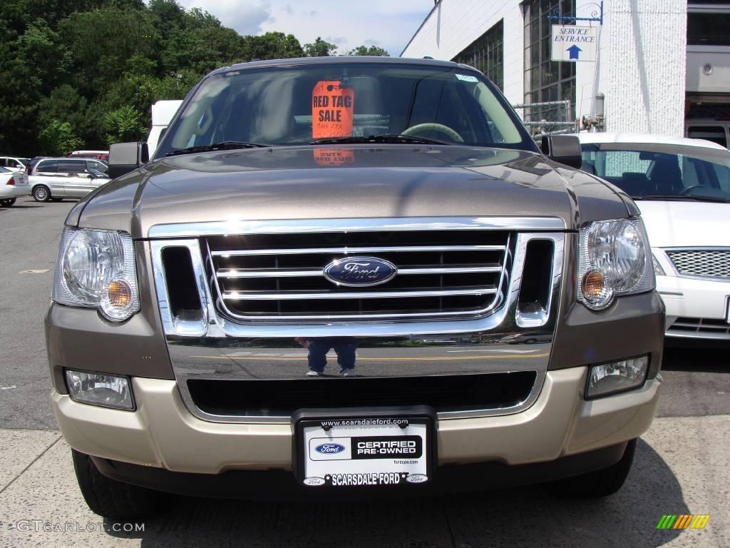 2006 Mineral Grey Metallic Ford Explorer Eddie Bauer 4x4 13370136 Photo 2 Car