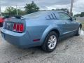 2005 Windveil Blue Metallic Ford Mustang V6 Deluxe Coupe  photo #3